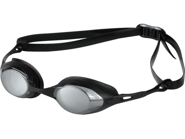 arena Cobra Mirror - Lunettes de natation - noir